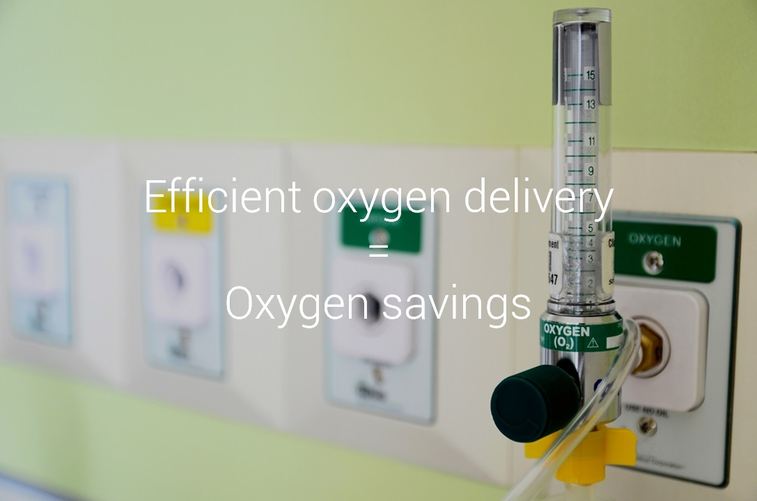 iWay - Efficient oxygen delivery = Oxygen savings
