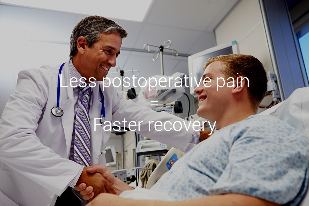 iWay - Less postoperative pain - Faster recovery