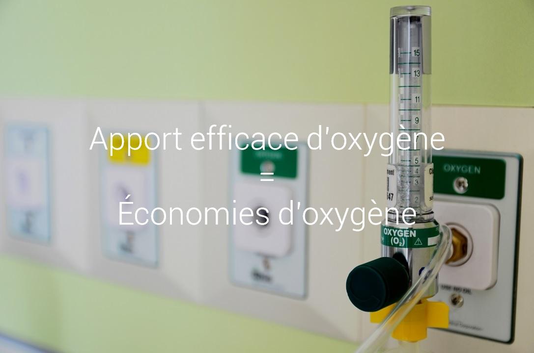 iWay - Apport efficace d'oxygène = Economies d'oxygène